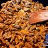Rustikales Rahmgeschnetzeltes mit Pilzen