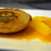 Roh Nudel-Pancakes mit Orangen-Zimt-Sugo