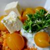 Linsen-Mirabellen-Salat mit Hirtenkäse