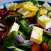 Frühlingssalat mit Feta-Käse