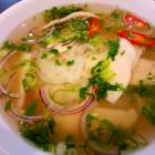 Vietnamesische Nudelsuppe Pho Ga