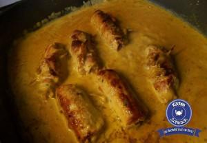 Italienisches Schnitzel mit Rahmkräuter-Jus
