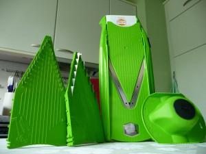 Börner V5 Gemüsehobel in der Fabe Grün